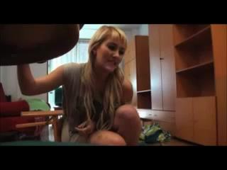 Blondine Sex Versteckte Kamera